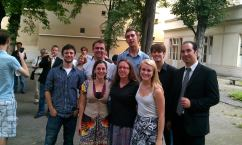 Participants in the 2012 European American Musical Alliance at the Schola Cantorum in Paris