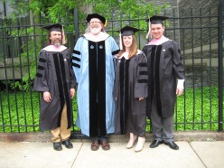 The 2013 Temple composition DMA graduates with advisor Maurice Wright