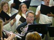 "Performance of masters thesis ""Missa ad honorem Sancti Francisci."" April 30, 2009"