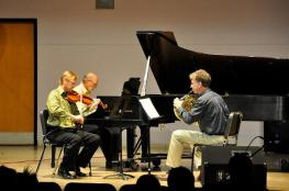 Performance of Pastoral Horn Trio at the University of Central Missouri's New Music Festival and 2011 Regional SCI Conference.